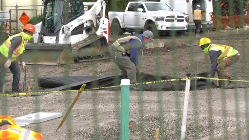 construction, Butler Memorial Park