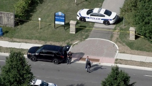 Peel Regional Police are investigating after a male was found with obvious signs of trauma in a Brampton, Ont. park and later pronounced dead. (CTV News Toronto Chopper)