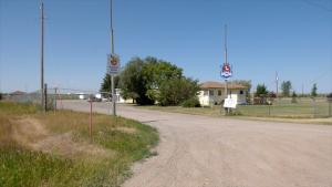 The former Saskatoon police firing range. (Nicole Di Donato/CTV Saskatoon)
