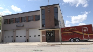 Timmins fire station. Aug. 13/20 (Sergio Arangio/CTV Northern Ontario)