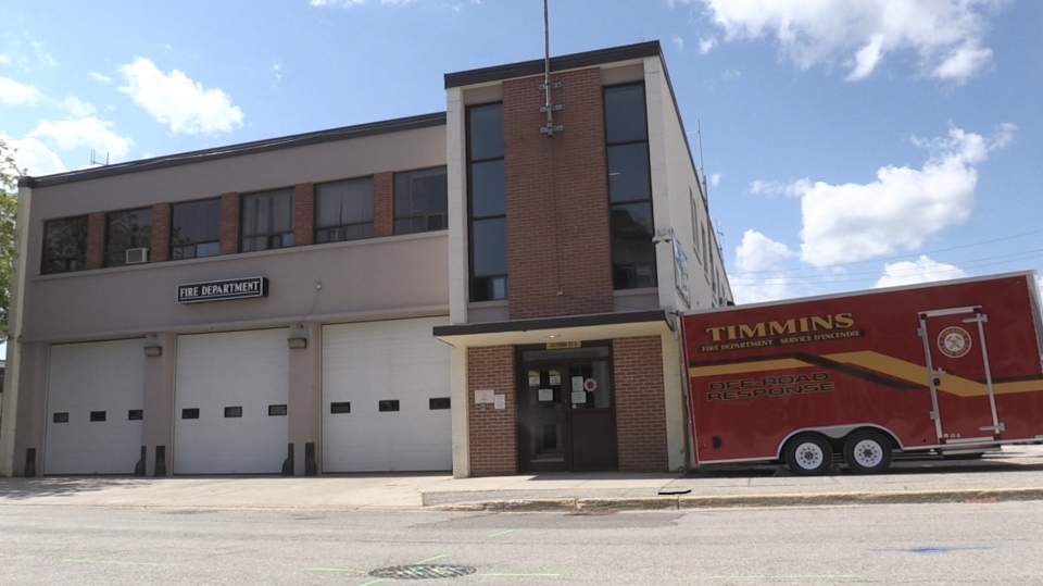 Timmins fire station