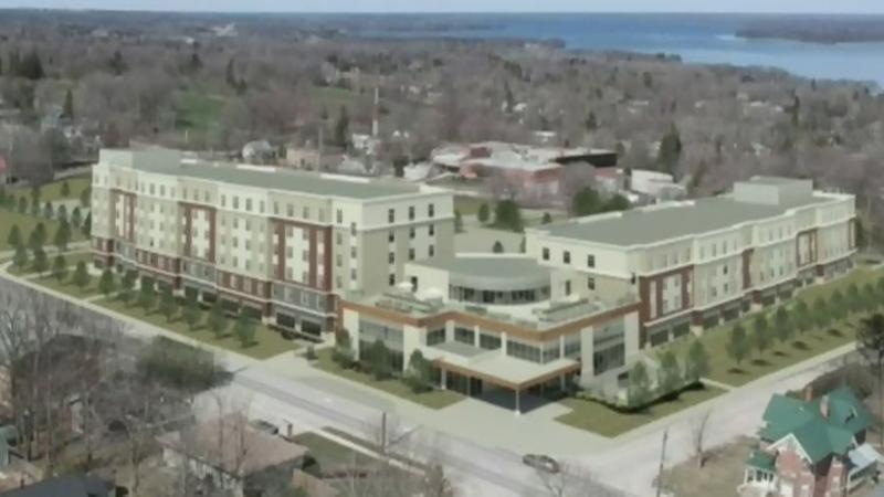 Plans for community hub in Orillia move forward