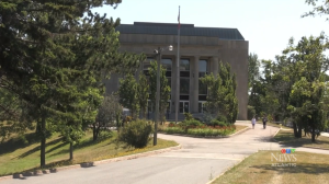 Mount Allison University is shown in this file photo.