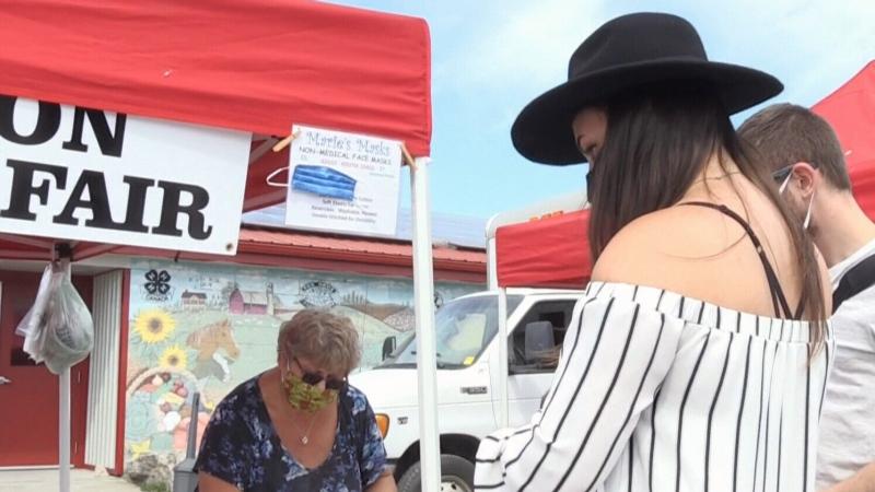 Opening day at Rockton Farmers' Market