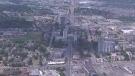 An aerial image of Waterloo.