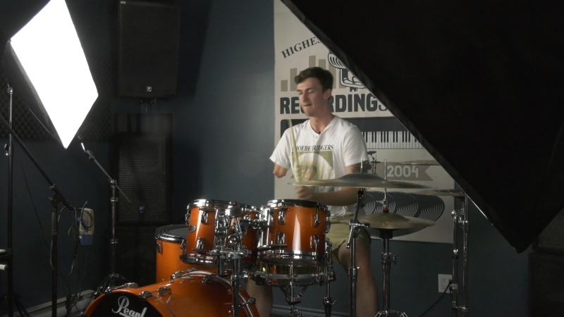 Burnaby drummer an internet sensation