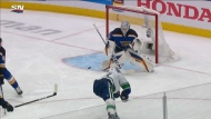 Heroics in Canucks first playoff win in years