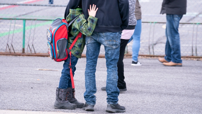 From the social pressures of being sorted into class cohorts to fears about bringing the novel coronavirus back home, experts say returning to school will likely provoke some anxiety for students of all ages. (THE CANADIAN PRESS/Paul Chiasson)