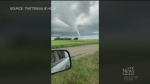 Tornado sweeps through parts of West-Man