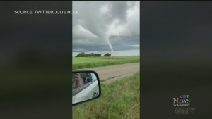 Tornado sweeps through parts of West-Man
