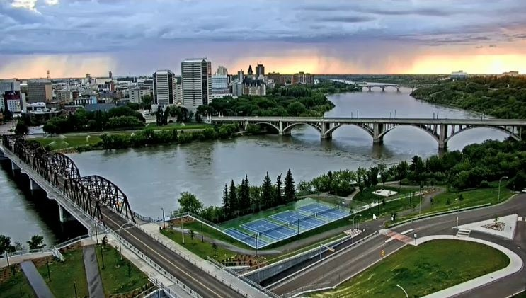 Saskatoon weather August 14