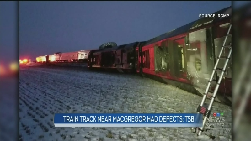 Track defects found near derailment site