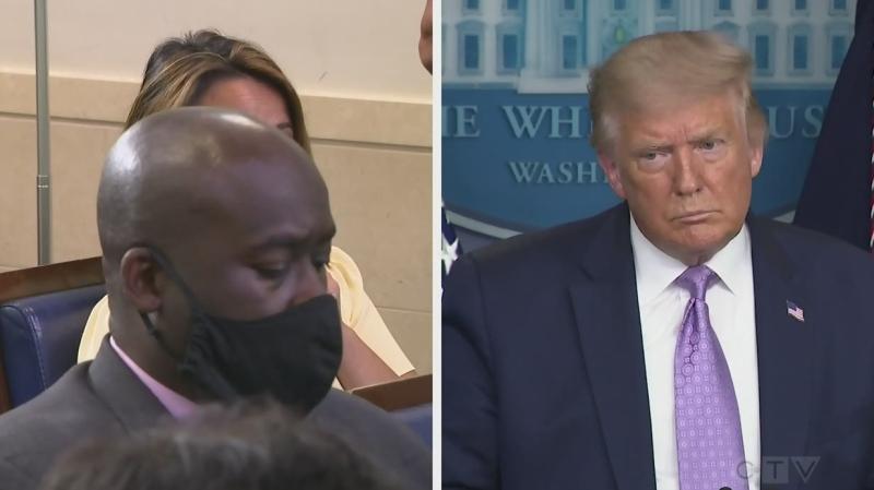 Trump comments on Kamala Harris rumours