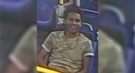 This image released by London police shows a suspect sought in an alleged sexual assault on a city transit bus on July 31, 2020.
