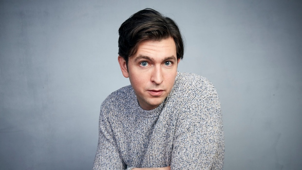 """Nicholas Braun poses for a portrait to promote the film """"Zola"""" during the Sundance Film Festival on Jan. 25, 2020, in Park City, Utah. Braun, who plays fan favorite Cousin Greg on HBO's """"Succession,"""" has created a song for the age of COVID. Called """"Antibodies,"""" the song (Photo by Taylor Jewell/Invision/AP, File)"""