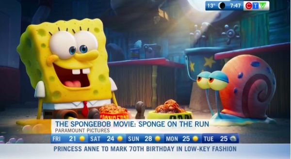 Sponge Bob movie