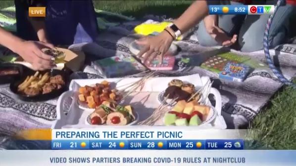Summer family picnics