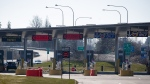 The U.S. port of entry into Blaine, Wash., is seen in Surrey, B.C., on Wednesday, March 18, 2020. Public Safety Minister Bill Blair says restrictions at the Canada-U.S. border will be extended another 30 days due to the COVID-19 pandemic. THE CANADIAN PRESS/Darryl Dyck