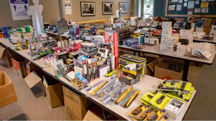 Some of the stolen goods uncovered by police in Ontario. (York Regional Police)