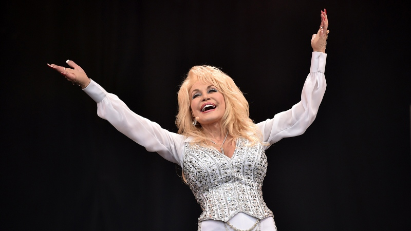 Country singer Dolly Parton is making it clear that she supports Black Lives Matter. (Leon Neal/AFP/Getty Images)