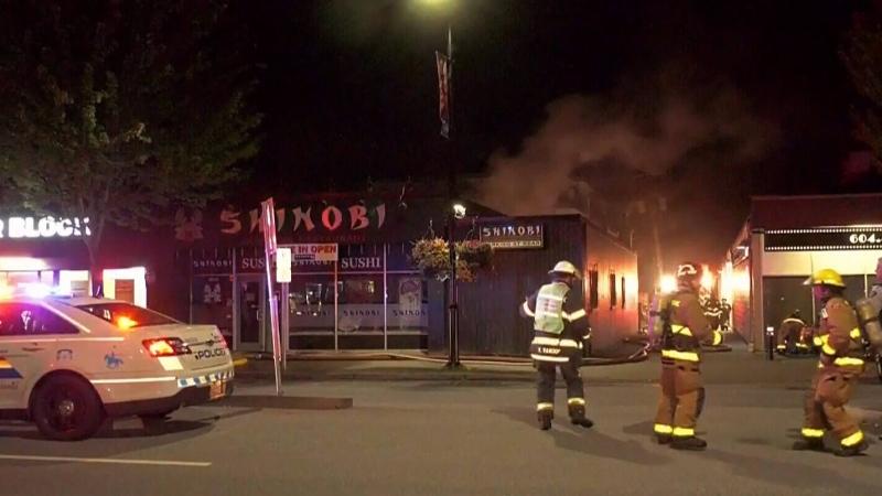 Maple Ridge crews respond to 2 morning fires