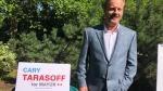 Saskatoon mayoral candidate Cary Tarasoff is pictured Aug. 14, 2020. (Pat Mckay/CTV Saskatoon)