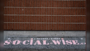 """Ottawa Public Health is encouraging visitors to the ByWard Market to be """"social wise."""" (Photo courtesy: Twitter/OttawaHealth)"""