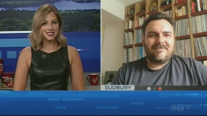 Watch Jessica Gosselin's interview with Up Here co-founder Christian Pelletier about the return of the popular Sudbury summer festival.