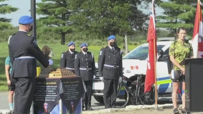 Sudbury memorial service honours late paramedics