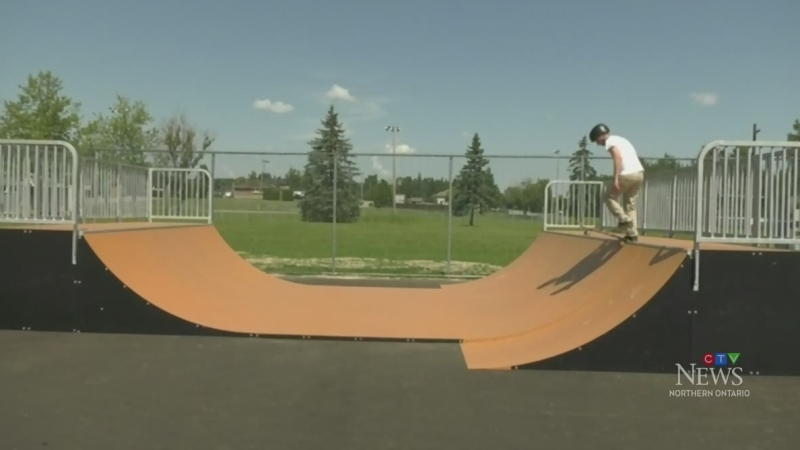 New skate park in Sudbury