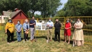 A groundbreaking ceremony was held for the new heritage centre in Essex, Ont. on Friday, Aug. 14, 2020. (Source: Essex Region Conservation)