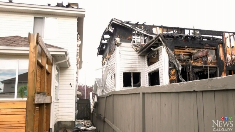 3 homes damages in southeast Calgary fire