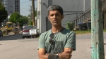Jovia Radheshwar was on his way to meet a friend for coffee when he heard a couple of police officers shouting. They had mistaken him for a suspect they were trying to arrest. He believes he was profiled. (CTV)