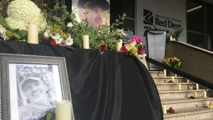 Vigil for Dr. Walter Reynolds