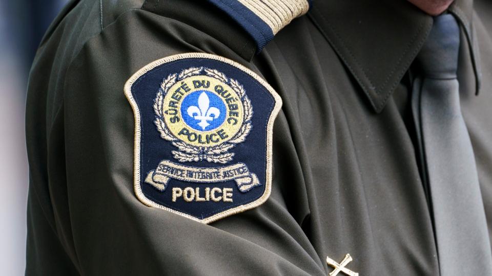 SQ (Surete du Quebec) badge