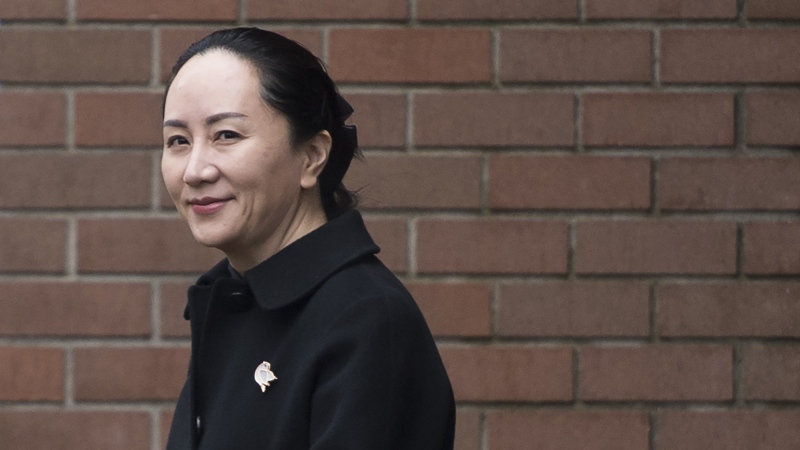 Lawyers for a Huawei executive facing possible extradition to the United States are disputing the Canadian government's claim that it can't release some documents in the case because it would compromise national security. (Photo: The Canadian Press/Jonathan Hayward)