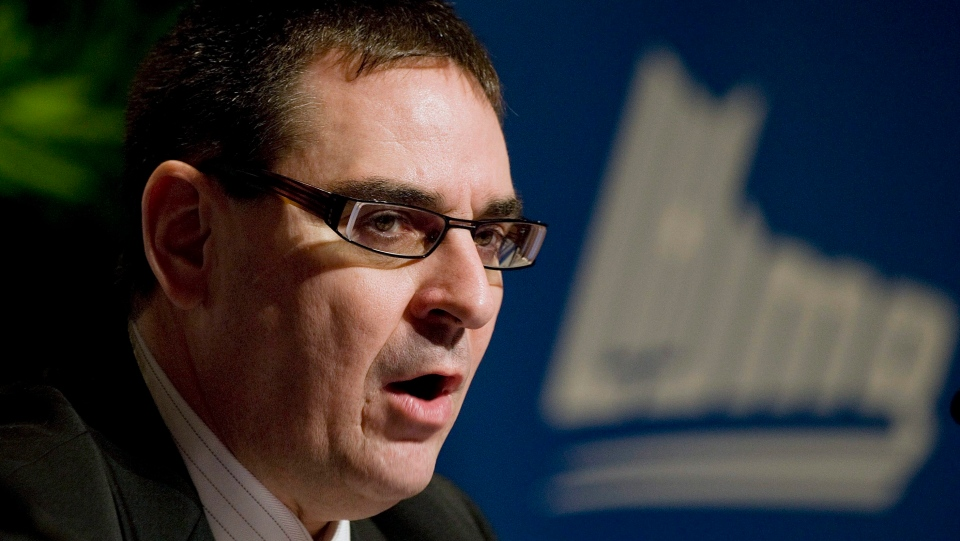QMJHL commissioner Gilles Courteau attends a press conference in Boucherville, Que., on Monday, January 25, 2010. THE CANADIAN PRESS/Peter McCabe