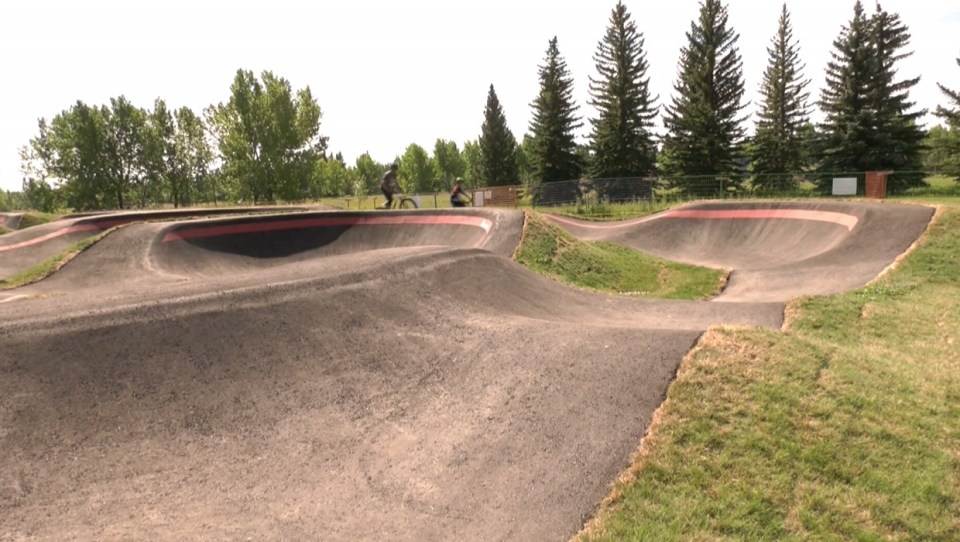South Glenmore Bicycle Pump Track