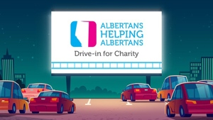 The Alberta Cancer Foundation will be hosting a Game 4 viewing party in the Grandstand infield on Sunday afternoon (ACF)
