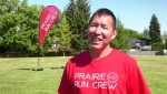 Tarrant Cross Child started Prairie Run Crew to help young people by staying active.