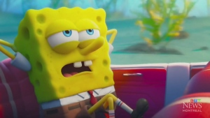 SpongeBob returns in new movie
