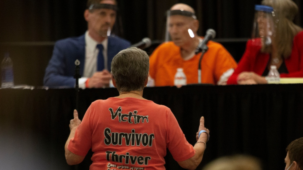Victims confront Golden State Killer on second day of sentencing hearing