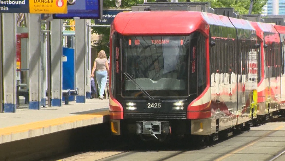 Effective Aug. 17, Calgary Transit has removed its seating restrictions that had been put in place to prevent the potential spread of COVID-19 (file)