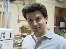 UBC student Taylor Cooper says last-minute bugs are par for the course in student robotics development. October 10, 2009. (CTV)