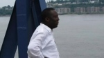 Dr. Jean Robert Ngola is shown in a submitted photo. After months of harassment and racist remarks, the doctor at the centre of a COVID-19 controversy that rocked New Brunswick says his life has been changed entirely. (Submitted: Joel Etienne)