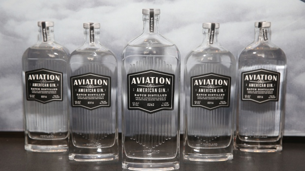 A view of Aviation American Gin at Microsoft Theater Gold Ballroom on October 9, 2018 in Los Angeles, California. (Jesse Grant/Getty Images via CNN)