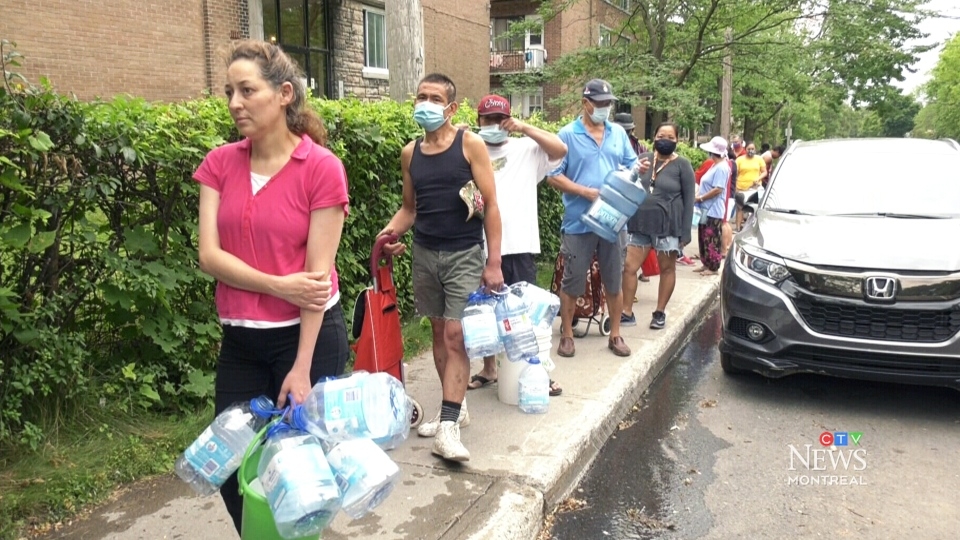 Some Cote-des-Neiges residents without water