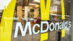 A McDondald's located at 630 Keele Street in Toronto is closed after an employee tested positive for COVID-19. (The Canadian Press)