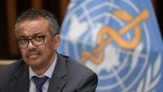 World Health Organization (WHO) Director-General Tedros Adhanom Ghebreyesus says people most exposed to the coronavirus should be vaccinated first. (AFP)