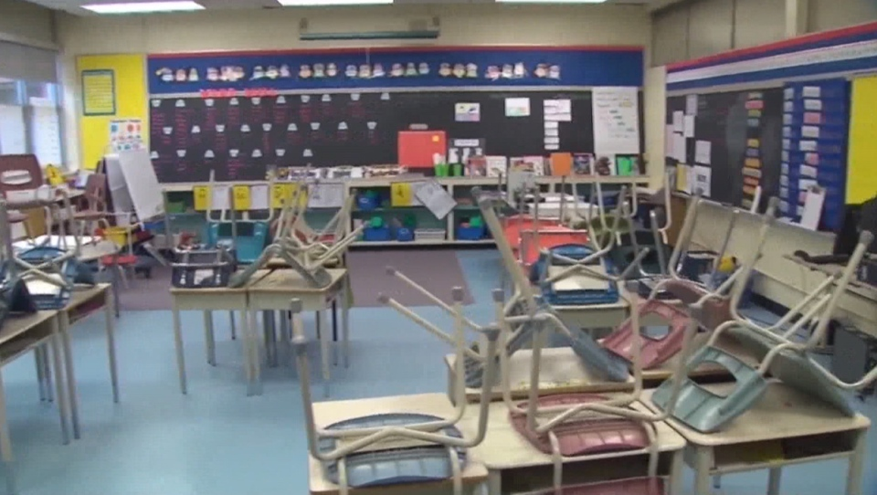 Thousands of CCSD students will be returning to the classroom Wednesday as part of the staged start to the school year (file)